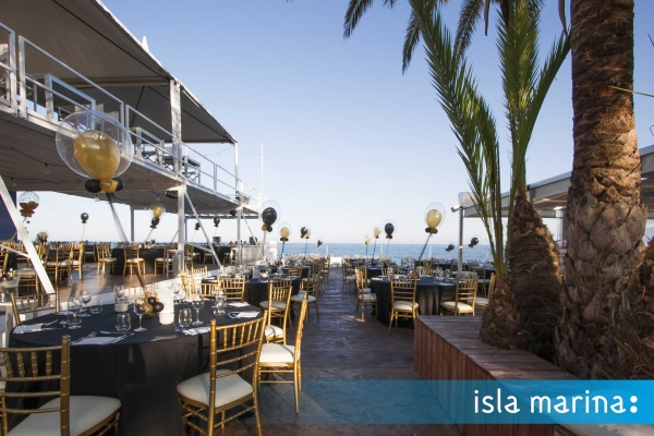 Isla Marina eventos