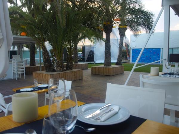 Isla Marina terraza